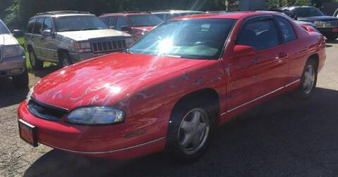 1997 Chevrolet Monte Carlo for sale at Knowlton Motors, Inc. in Freeport IL