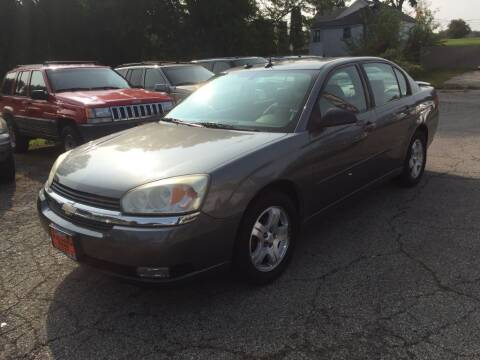 2004 Chevrolet Malibu for sale at Knowlton Motors, Inc. in Freeport IL