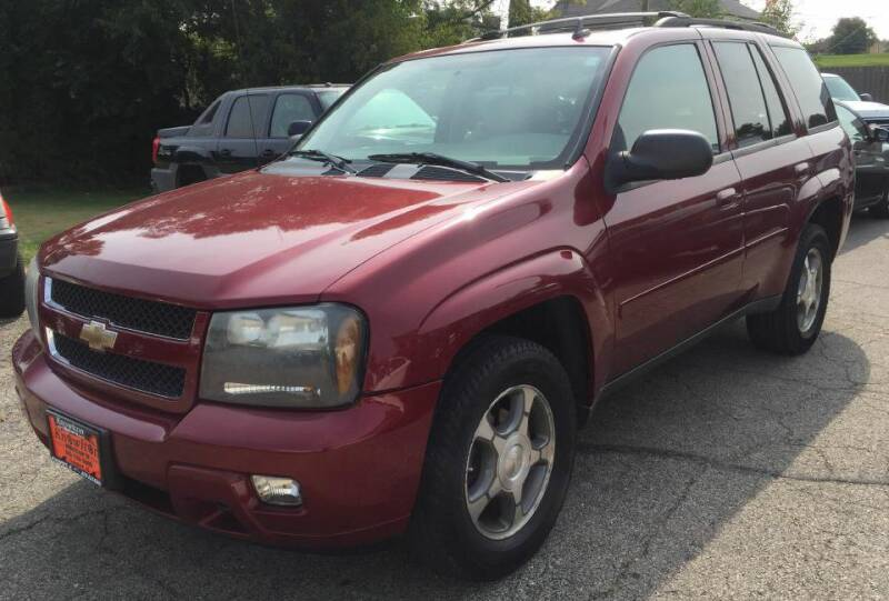 2008 Chevrolet TrailBlazer for sale at Knowlton Motors, Inc. in Freeport IL