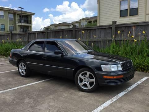 1991 Lexus LS 400 for sale at AC MOTORCARS LLC in Houston TX
