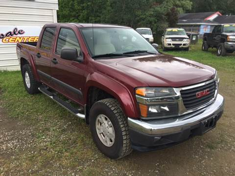 2007 GMC Canyon for sale in Falconer, NY