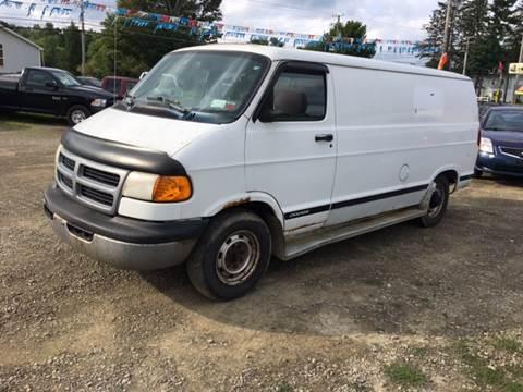 1998 Dodge Ram Van for sale in Falconer, NY