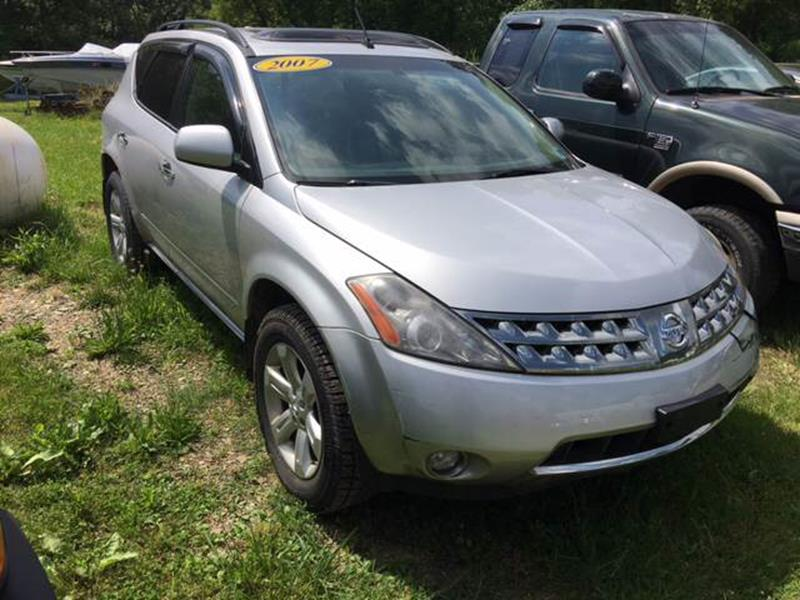 2007 Nissan Murano For Sale At Falconer Resale Center In Falconer NY