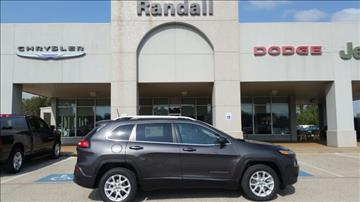 2017 Jeep Cherokee for sale in Henderson, TX