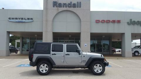 2017 Jeep Wrangler Unlimited for sale in Henderson, TX