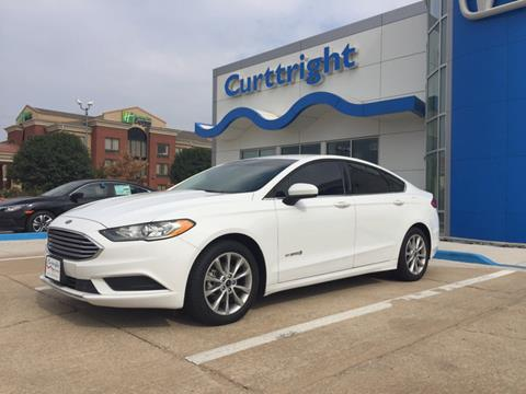 2017 Ford Fusion Hybrid for sale in Enid, OK