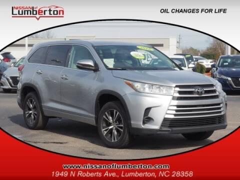 2018 Toyota Highlander for sale at Nissan of Lumberton in Lumberton NC