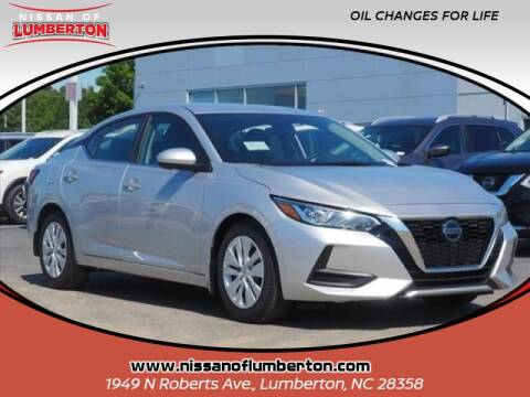 2020 Nissan Sentra for sale at Nissan of Lumberton in Lumberton NC