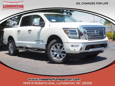 2020 Nissan Titan for sale at Nissan of Lumberton in Lumberton NC