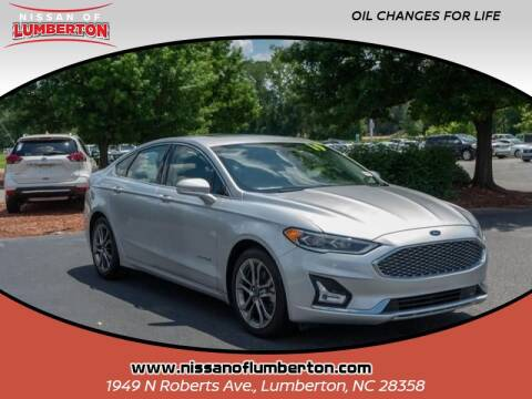 2019 Ford Fusion Hybrid for sale at Nissan of Lumberton in Lumberton NC