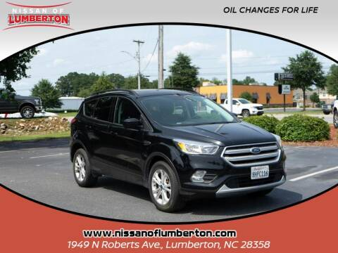 2018 Ford Escape for sale at Nissan of Lumberton in Lumberton NC