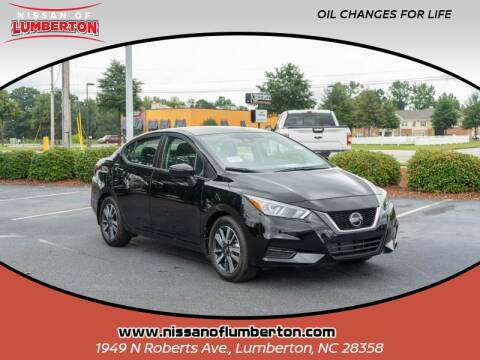 2020 Nissan Versa for sale at Nissan of Lumberton in Lumberton NC