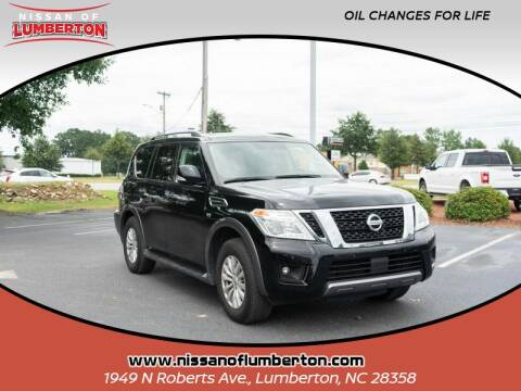 2019 Nissan Armada for sale at Nissan of Lumberton in Lumberton NC