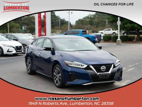 2020 Nissan Maxima for sale at Nissan of Lumberton in Lumberton NC