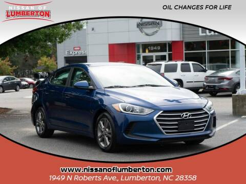 2018 Hyundai Elantra for sale at Nissan of Lumberton in Lumberton NC
