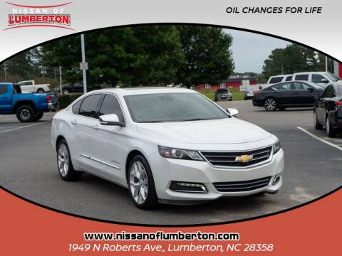 2017 Chevrolet Impala for sale at Nissan of Lumberton in Lumberton NC