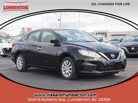 2019 Nissan Sentra for sale at Nissan of Lumberton in Lumberton NC