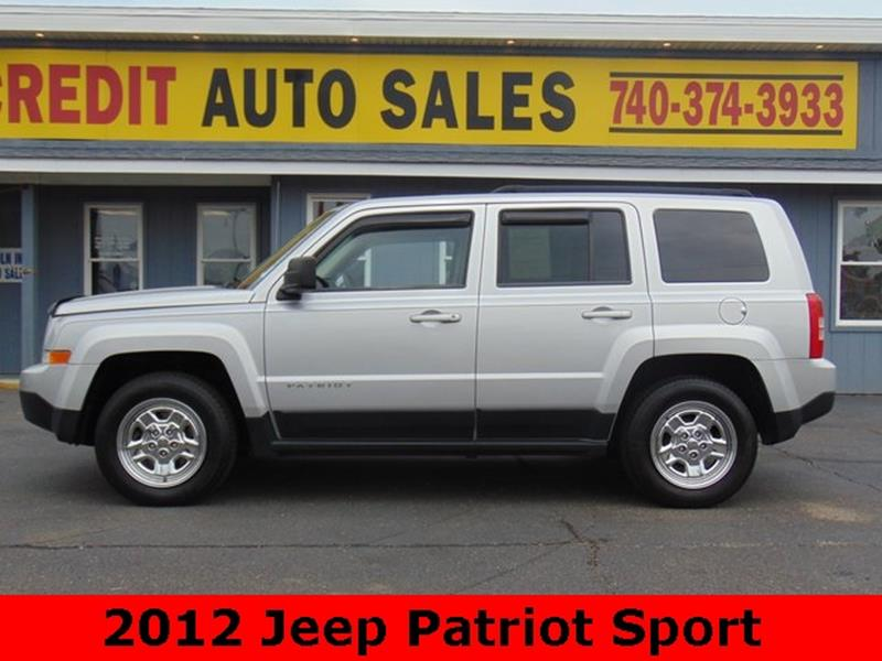 2012 Jeep Patriot For Sale At Pioneer Family EZ Credit Auto Sales In  Marietta OH