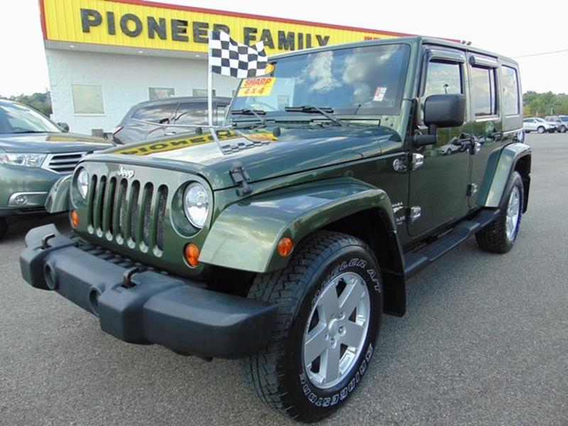 2007 Jeep Wrangler Unlimited For Sale At Pioneer Family EZ Credit Trucks U0026  SUVs In