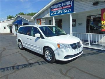 2016 Dodge Grand Caravan for sale at Pioneer Family Preowned Autos in Williamstown WV