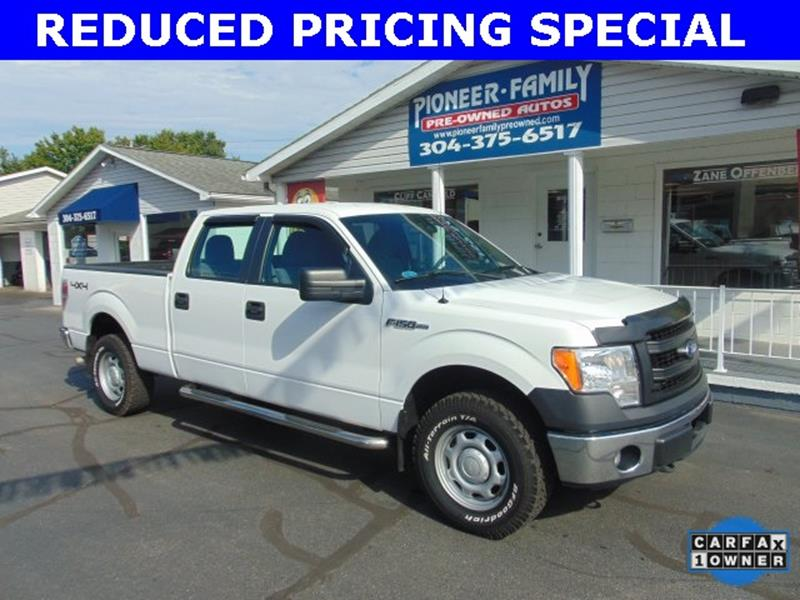 2013 Ford F-150 for sale at Pioneer Family Preowned Autos in Williamstown WV