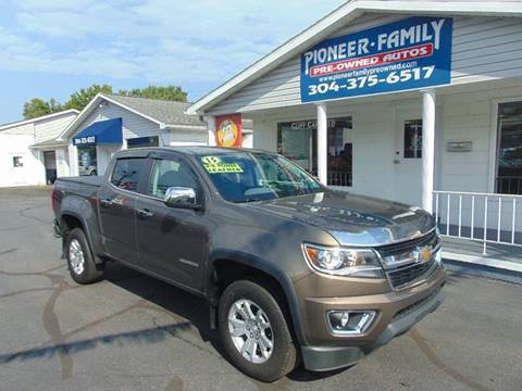 2015 Chevrolet Colorado for sale at Pioneer Family Preowned Autos in Williamstown WV