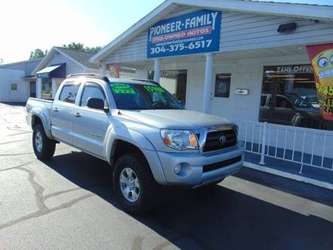 2008 Toyota Tacoma for sale at Pioneer Family Preowned Autos in Williamstown WV