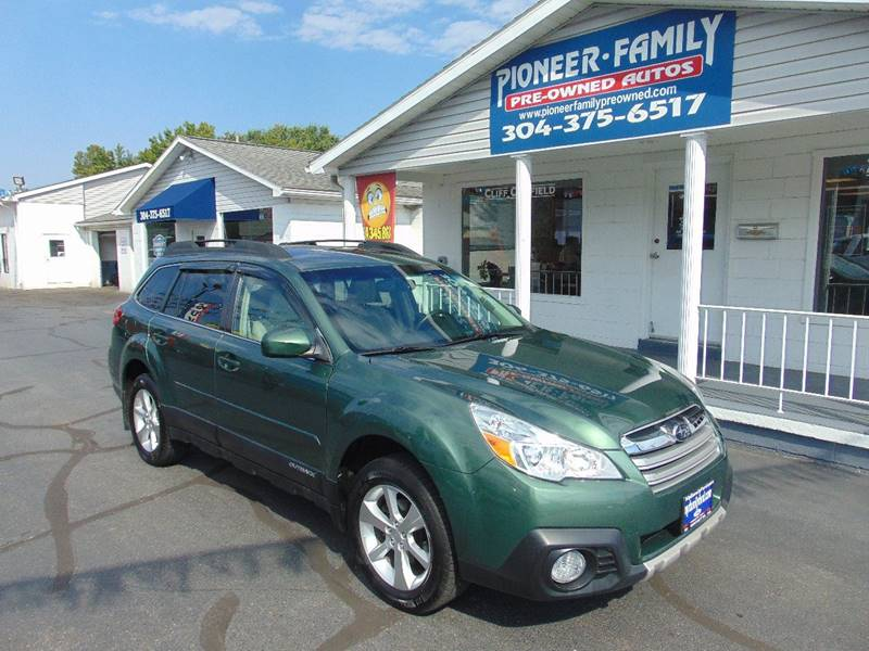 2014 Subaru Outback for sale at Pioneer Family Preowned Autos in Williamstown WV