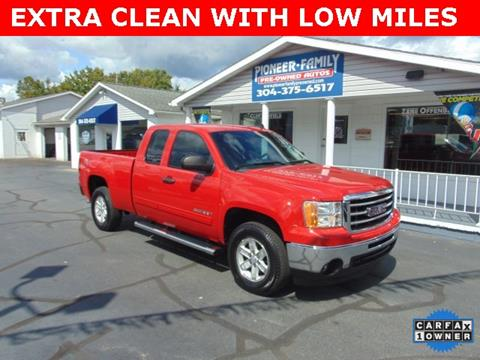 2012 GMC Sierra 1500 for sale at Pioneer Family Preowned Autos in Williamstown WV