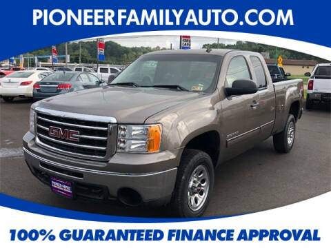 2013 GMC Sierra 1500 for sale at Pioneer Family Preowned Autos in Williamstown WV