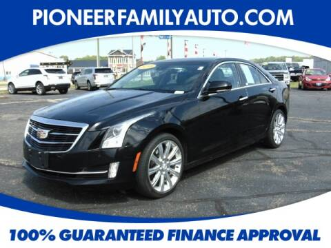 2015 Cadillac ATS for sale at Pioneer Family Preowned Autos in Williamstown WV