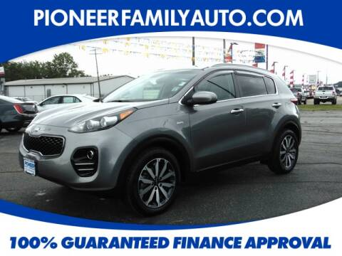 2017 Kia Sportage for sale at Pioneer Family Preowned Autos in Williamstown WV
