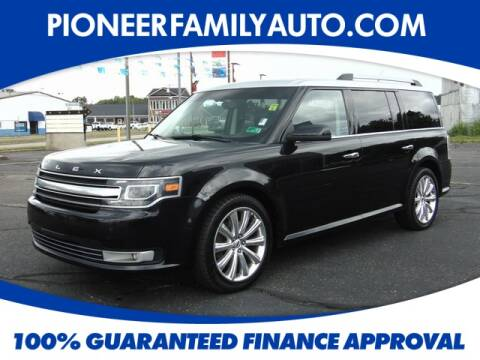 2014 Ford Flex for sale at Pioneer Family Preowned Autos in Williamstown WV