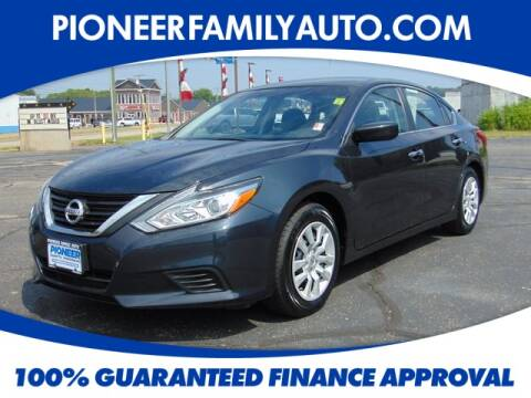 2017 Nissan Altima for sale at Pioneer Family Preowned Autos in Williamstown WV