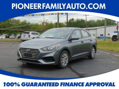 2019 Hyundai Accent for sale at Pioneer Family Preowned Autos in Williamstown WV
