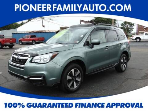 2017 Subaru Forester for sale at Pioneer Family Preowned Autos in Williamstown WV