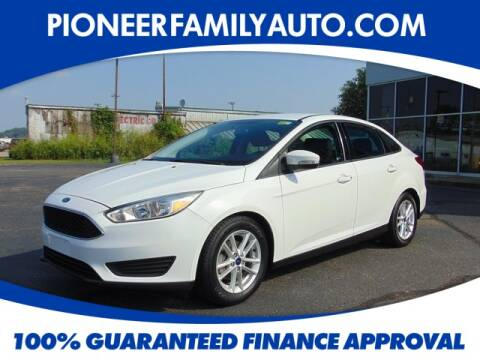 2016 Ford Focus for sale at Pioneer Family Preowned Autos in Williamstown WV