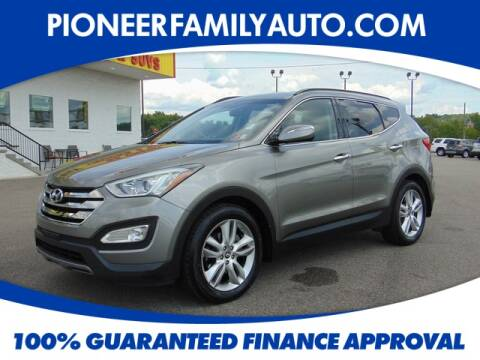 2014 Hyundai Santa Fe Sport for sale at Pioneer Family Preowned Autos in Williamstown WV