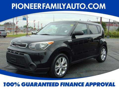 2015 Kia Soul for sale at Pioneer Family Preowned Autos in Williamstown WV