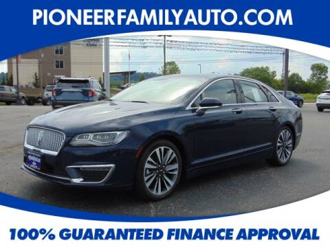 2019 Lincoln MKZ for sale at Pioneer Family Preowned Autos in Williamstown WV