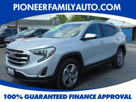 2019 GMC Terrain for sale at Pioneer Family Preowned Autos in Williamstown WV