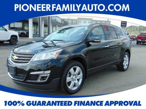 2017 Chevrolet Traverse for sale at Pioneer Family Preowned Autos in Williamstown WV