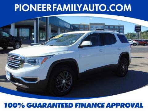 2019 GMC Acadia for sale at Pioneer Family Preowned Autos in Williamstown WV