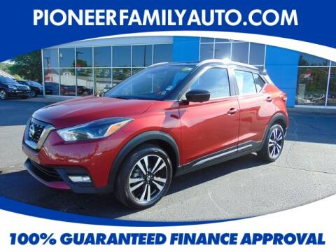 2019 Nissan Kicks for sale at Pioneer Family Preowned Autos in Williamstown WV