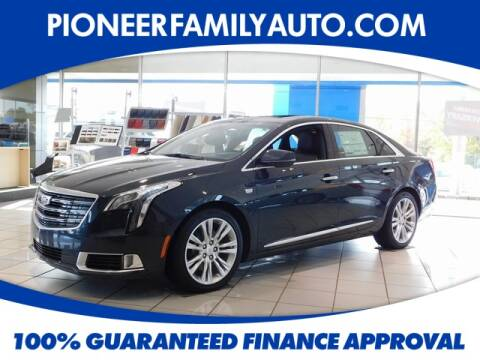 2019 Cadillac XTS for sale at Pioneer Family Preowned Autos in Williamstown WV