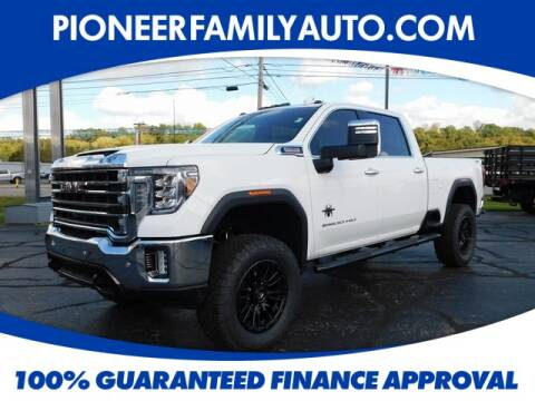 2020 GMC Sierra 2500HD for sale at Pioneer Family Preowned Autos in Williamstown WV