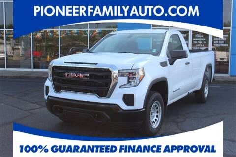2019 GMC Sierra 1500 for sale at Pioneer Family Preowned Autos in Williamstown WV