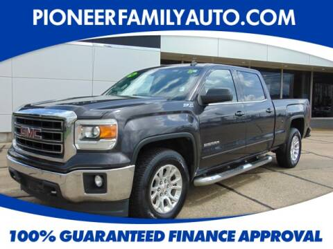 2014 GMC Sierra 1500 for sale at Pioneer Family Preowned Autos in Williamstown WV
