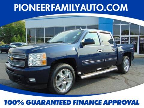 2012 Chevrolet Silverado 1500 for sale at Pioneer Family Preowned Autos in Williamstown WV
