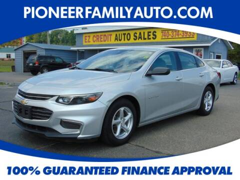 2017 Chevrolet Malibu for sale at Pioneer Family Preowned Autos in Williamstown WV